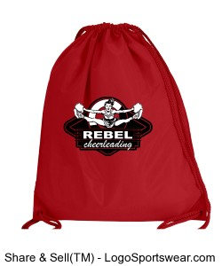 rebel cheer drawsting bag Design Zoom